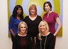 IMAGE 7754 <br />  Back row left to right: Melissa Van Putten-Henderson, Wells Fargo Private Bank, Diane Wilde, CEO of Dress for Success, Stefanie Lewis, Wells Fargo Private Bank<br />  Front row left to right: Karen Beach and Kelly Thill, Wells Fargo Private Bank