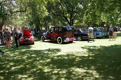 Autos in the Park, Cooper Center, Dallas