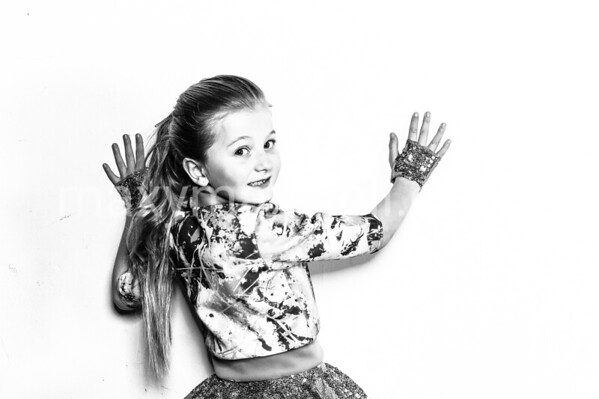 TRIPLE FANTASY 2017 studio - b&w images - East Devon Dance Academy