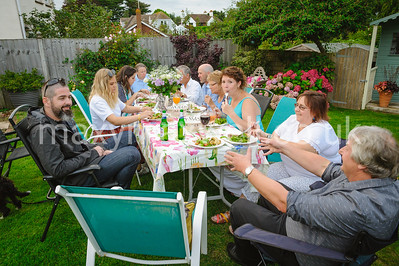 Bowmers Restaurant in Budleigh Salterton - Summer Garden Party