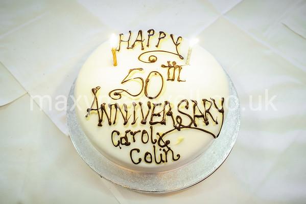 Carol & Colin Sawyer 50th Wedding Anniversary