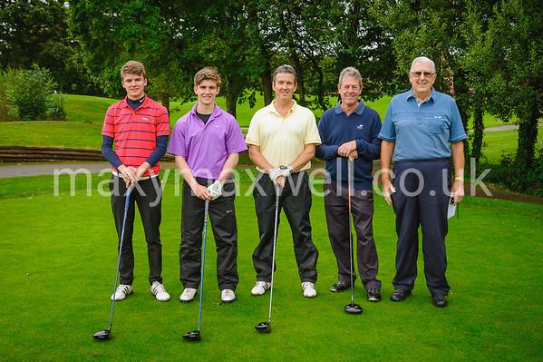 Dream-A-Way Golf Day 2017 at Woodbury Park