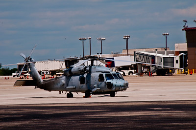 NAVY SEAHAWK AT REST