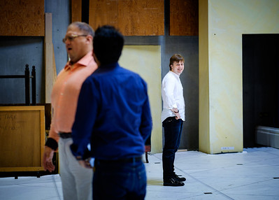 Andrei Bondarenko, Taras Shtonda & Jacopo Spirei - Eugene Onegin Rehearsals, Glyndebourne 2014