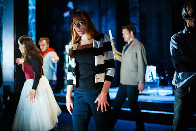 Layla Claire (Donna Anna) - Don Giovanni Stage and Studio Rehearsals - Glyndebourne 2014