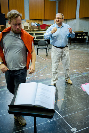 Glyndebourne - Don Giovanni Stage and Studio Rehearsals 22.5.14
