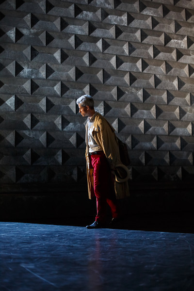 Edwin Crossley-Mercer (Leporello) - Don Giovanni Stage and Studio Rehearsals - Glyndebourne 2014