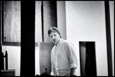 Glyndebourne - Eugene Onegin Rehearsals 2.5.14 (black and white)