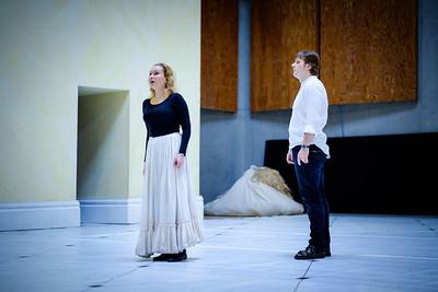 Andrei Bondarenko & Ekaterina Scherbachenko - Eugene Onegin Rehearsals, Glyndebourne 2014