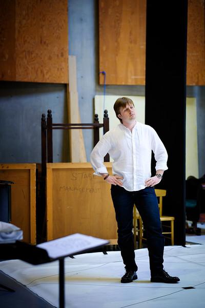 Andrei Bondarenko - Eugene Onegin Rehearsals, Glyndebourne 2014