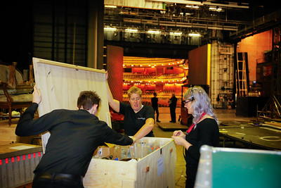 021 Glyndebourne Tour 2014 Preparations & Load Out Day 25 10 14