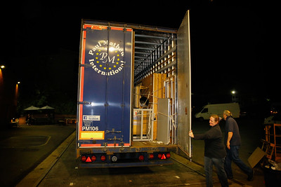 36 First Lorry Packed