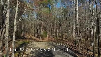 Lot 58 & 59 – 8 & 7 Muirfield