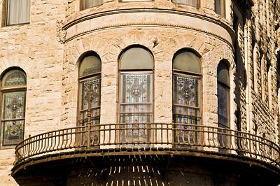 SCOTTISH RITE TEMPLE WINDOW DETAIL