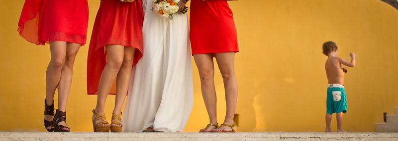 Renewal of vows. The Rock at 4 Seasons, Punta de MIta