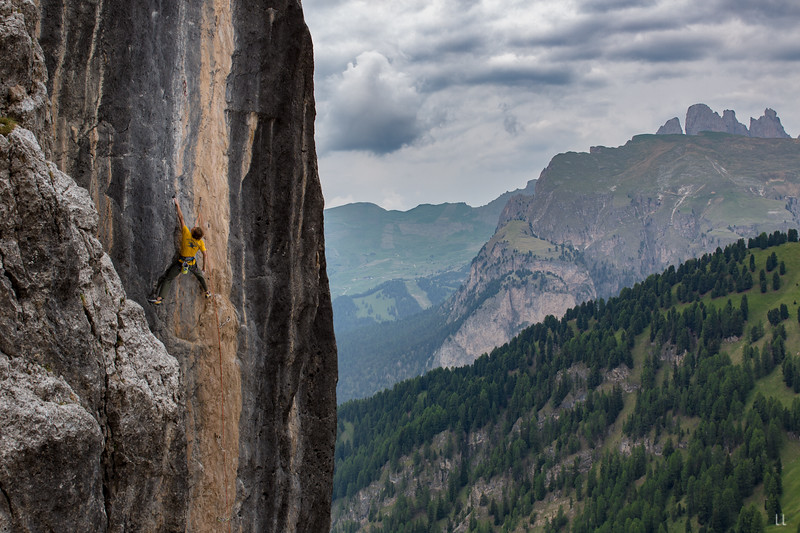 Alex Megos – Menhir, Il Dolomit, Süd Tirol