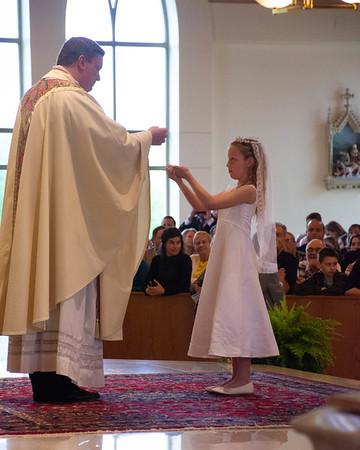 Livi & Luke 1st Communion
