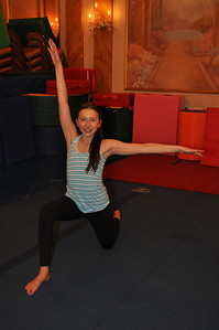 Elliott's gymnastics class, May 29, 2014.  Photo by Cynthia Carris