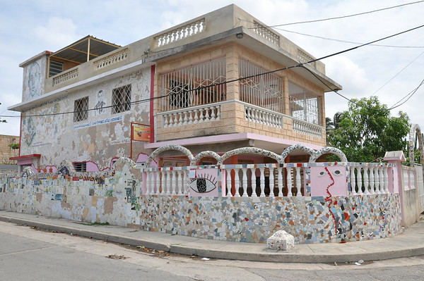 Home, designed and decorated by Cuban artist, José Fuster, in Jaiminita, Cuba.