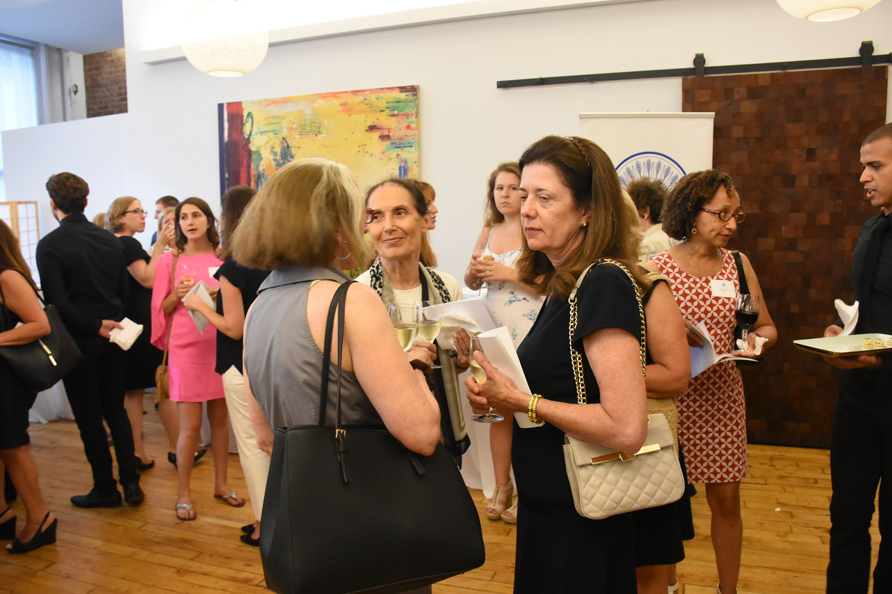 Les Dames scholarship reception, in New York on July 20th, 2016.  Photo credit: Cynthia Carris Alonso