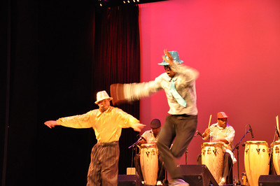 Performance of Los Muñequitos de Matanzas at Symphony Space, New York, May 7, 2011.  PHOTO BY: Cynthia Carris Alonso