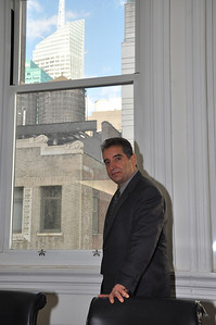 Robert Politzer, President CEO, Greenstreet, Inc. in his New York City office on October 24, 2013.  PHOTO BY: Cynthia Carris Alonso http://www.photosolutionsnyc.com/