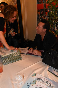 "Book party for ""Touch the Earth,"" by Julian Lennon  Photo by: Cynthia Carris Alonso"