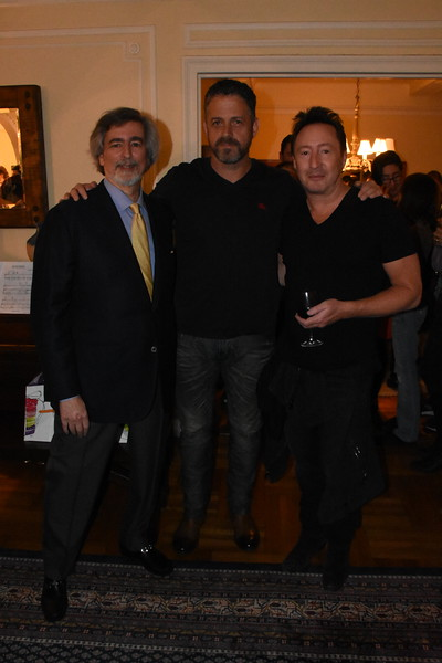 """Book party for """"Touch the Earth,"""" by Julian Lennon  Photo by: Cynthia Carris Alonso"""