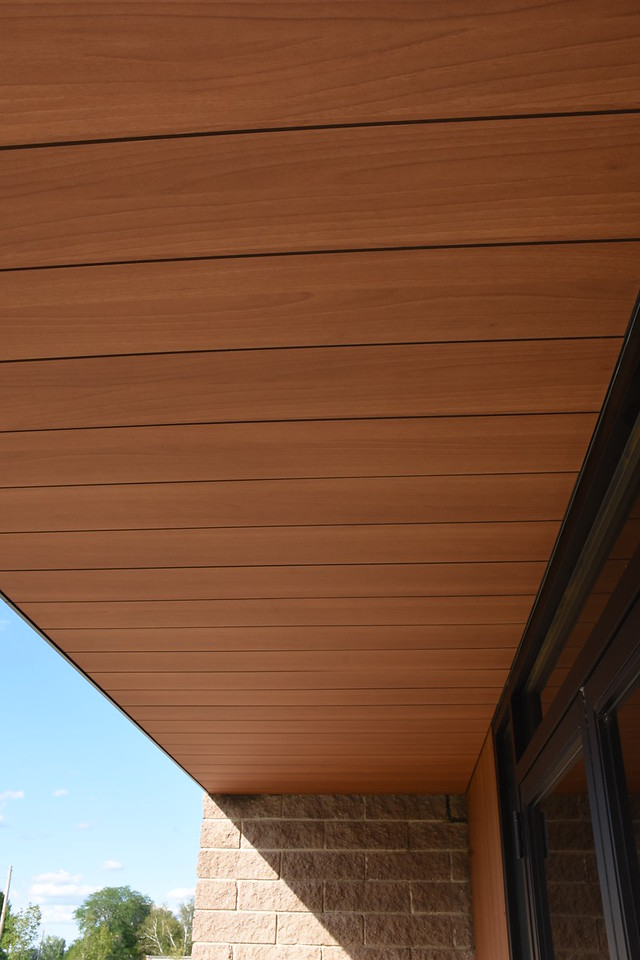 Trespa panels at 130 Addison Road in Windsor, CT.