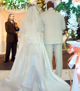 Francy and Manuel's wedding.