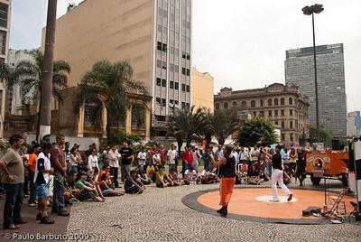 Namakaca, espetáculo de rua no Vale do Anhangabaú, novembro de 2009.