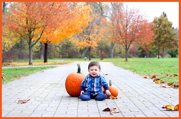 Dominic ~ fall photos