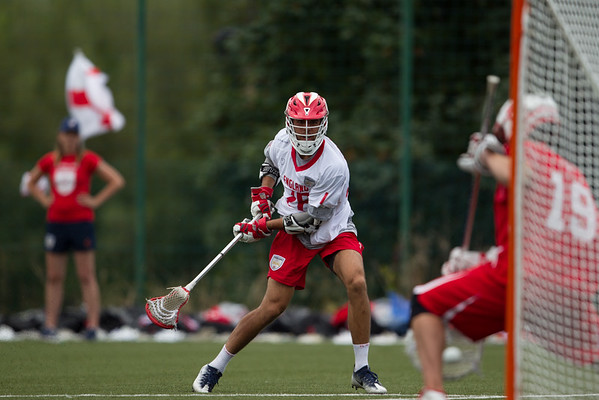 England Lacrosse v. Switzerland Quarters