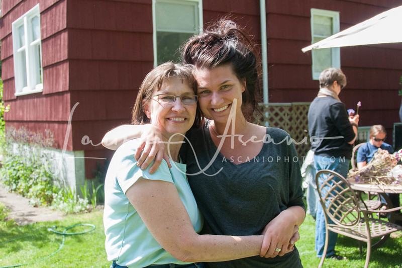 Sarah and her mom Joy