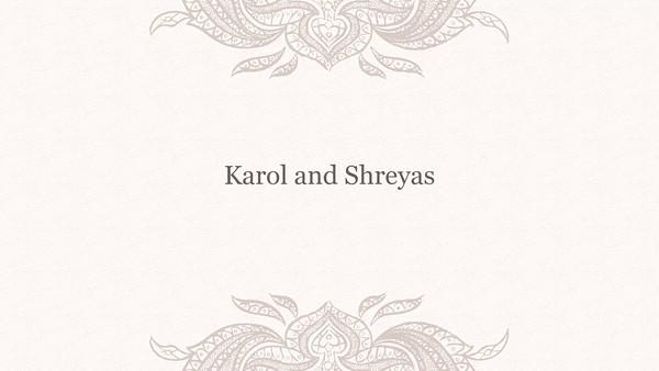 Karol and Shreyas Wedding Slideshow