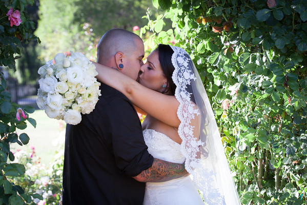 Nicole and Daniel | San Jose Rose Garden Wedding