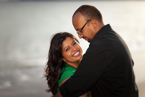 Priti and Amir | Engagement Photos | Seascape Beach