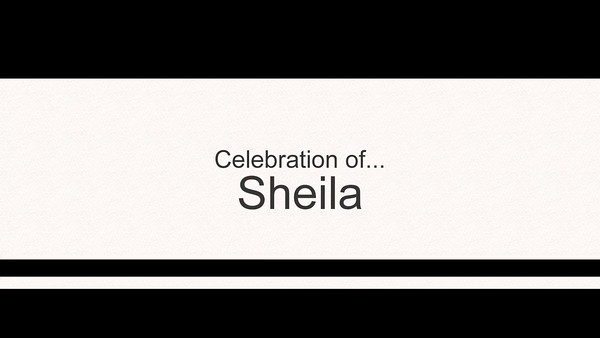 Sheila Retirement Celebration Slideshow
