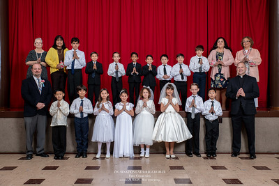 190511 Incarnation 1st Communion_10am Mass-1