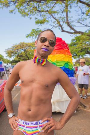 Honolulu Pride 2015 festivities