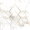 Gold diamond pattern on marble texture