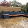 Casual built in bench
