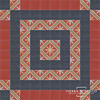 FEZ BARCELONA PATTERN with SOLID BORDERS