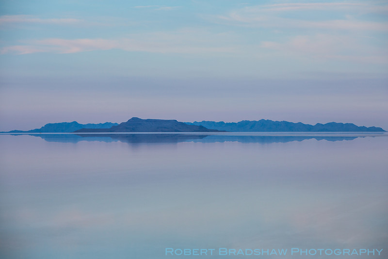 Evening on the Salt Flats