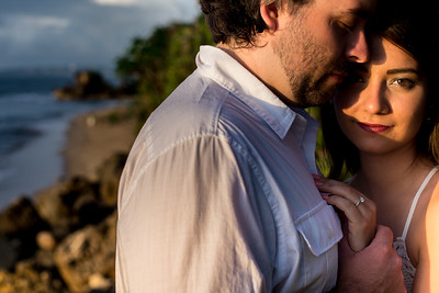 There are some couples we get to work with who I just know are meant to be together. #rincon #poolsbeach #goldenhour #naturallight #naturallightphotography #photographer #photography #weddingphotographerpuertorico