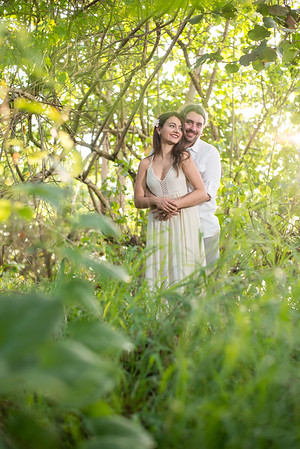 Beautiful light on the trail at Pools Beach for Zophia and Justins engagement session yesterday. #light #nature #love #engaged #photography #rincon #puertorico #weddingphotographerpuertorico