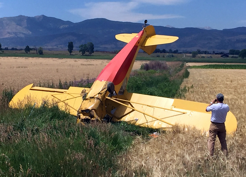 Plane Crash Vance Brand Airport