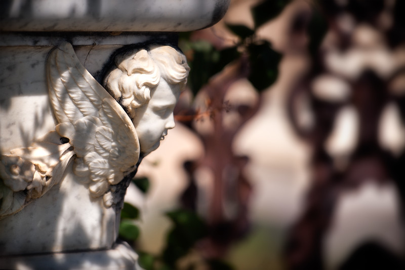 ...of Angels and Demons <br /> in Virginia City cemetery...