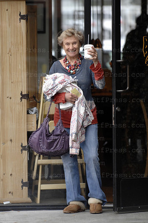 "EXCLUSIVE-Cloris Leachman (born April 30, 1926) is an American actress of stage, film and television. She has won eight primetime Emmy AwardsÑmore than any other female performerÑand one Daytime Emmy Award. She won an Oscar for Best Supporting Actress in the 1971 film The Last Picture Show. She is best known for playing the nosy neighbor Phyllis Lindstrom on the 1970s TV series The Mary Tyler Moore Show, and later on the spinoff series, Phyllis. She also appeared in three Mel Brooks films, including Young Frankenstein and filming now with Brad Pitt ""Inglourous Basterds"" by Director Quentin Tarentino. Leachman was a contestant on Season 7 (2008) of Dancing With The Stars, paired with Corky Ballas. At the age of 82, she is the oldest contestant to dance on the series.[1] She was voted off on October 28th. When asked who she thinks is the favorite to win this season, she replied, ""Probably Brooke Burke, because she is always excellent.""[2][3] Leachman was the grand marshal for the 2009 Tournament of Roses Parade and Rose Bowl Game, which took place Jan 1, 2009 in Pasadena, California.[4] She presided over the 120th parade, the theme being ""Hats Off to Entertainment,"" and the 95th Rose Bowl game."