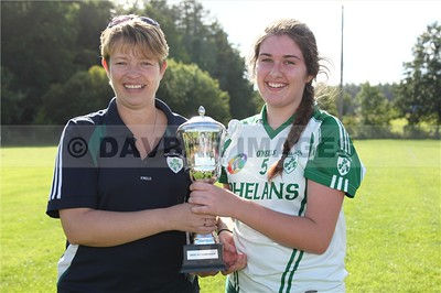 Ballinacor Under 16B Camogie Final 2015